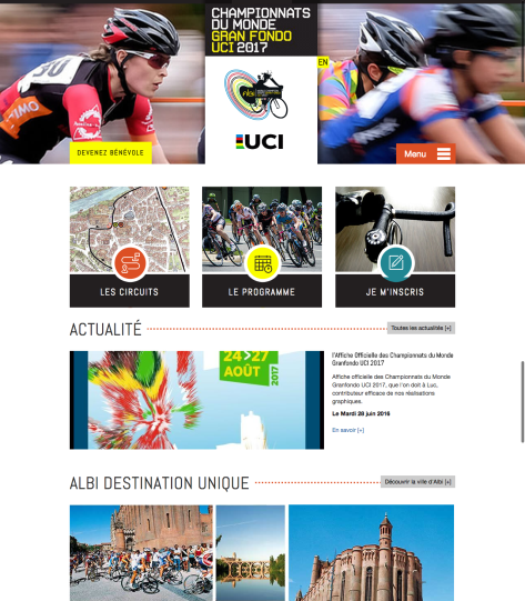 Accueil - Albi 2017 cycling